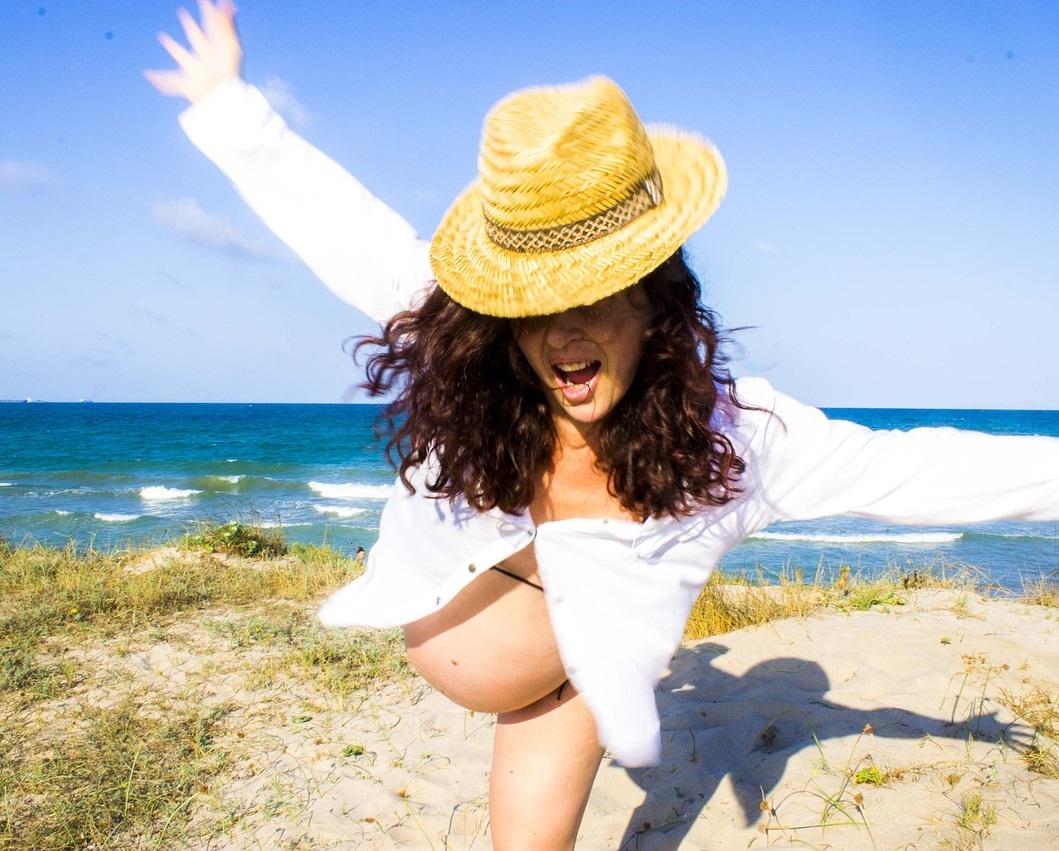 De zonnige kant van een zomerse zwangerschap